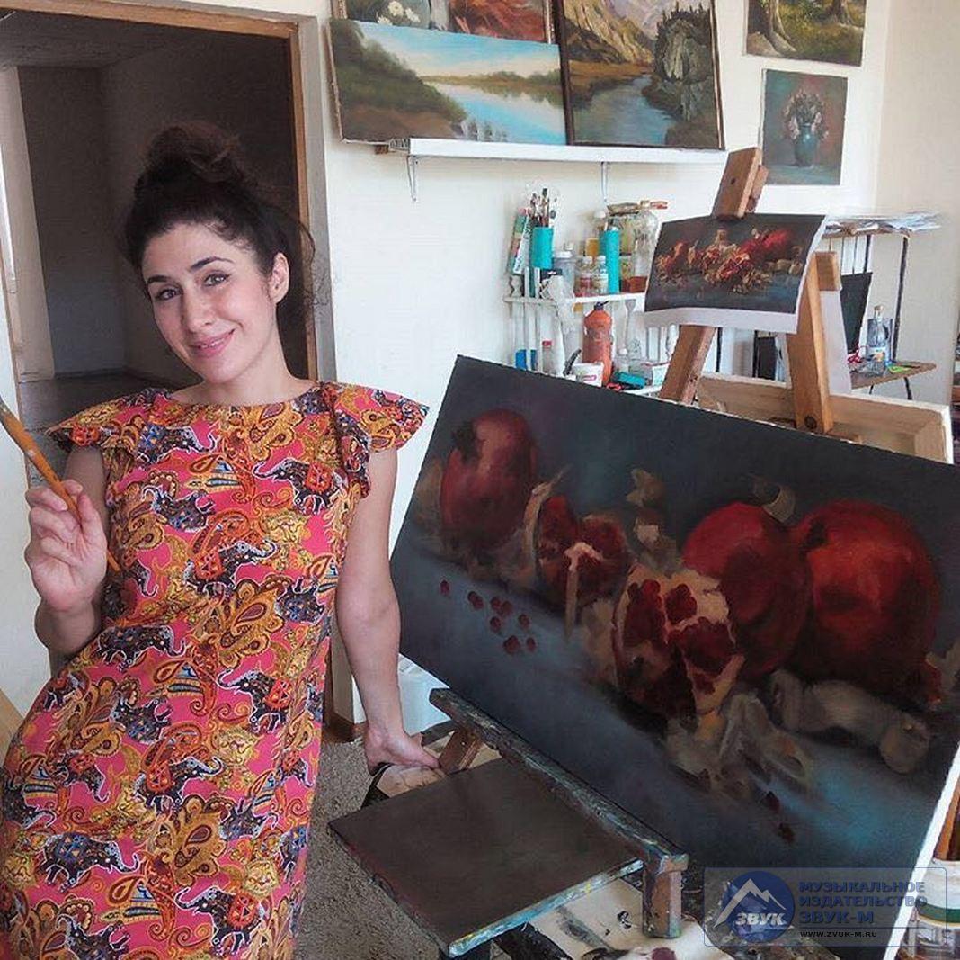 3 августа в майкопской художественной школе прошла выставка картин учеников творческой студии «Палитра».