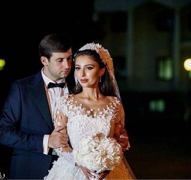Azamat Bishtov and Fatima Dzibova got married