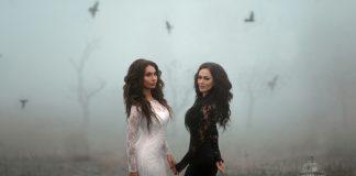Ruslana Sobiev and Zarina Bugayeva set up the networks ...