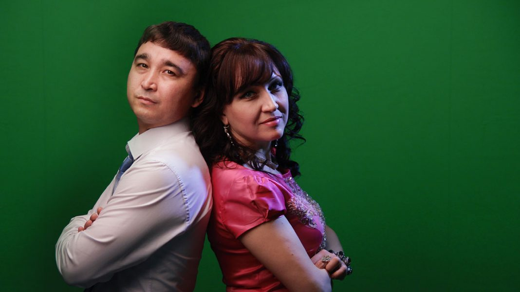 Lina and Ruslan Yarikov