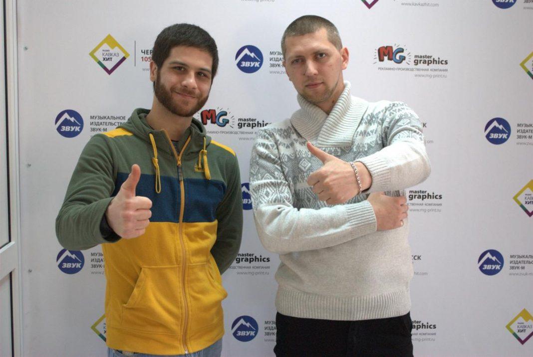 Азнаур и Джанибек Рамазанов в гостях у