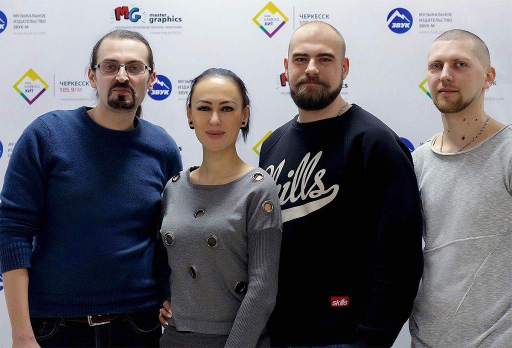 Руслана Собиева в гостях у издательства «Звук-М»