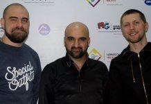 С официальным визитом в издательстве «Звук-М» побывал певец и композитор Федос