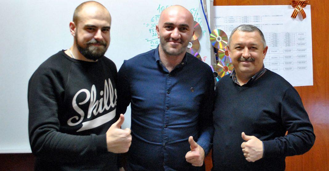 Артур Шомахов в гостях у «Звук-М»