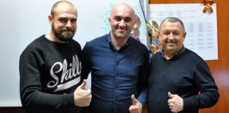 "Arthur Shomakhov visiting ""Zvuk-M"""