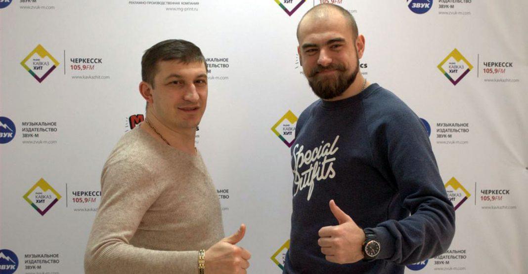 "Visiting ""Zvuk-M"" Leon Varteresyan"