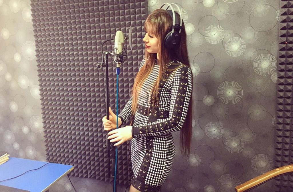 """In the recording studio of Mariana Casanova and Rustam Gedugosheva """"You records 16"""", active work is being done on the release of a track for the promising young singer from Nalchik - Angelica Bekaldieva"""