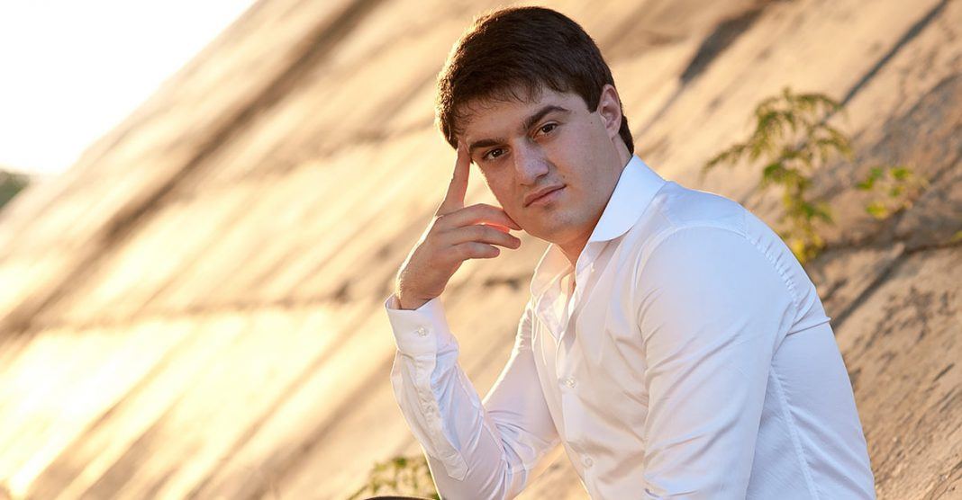 16 April marks 27 years to one of the most popular Caucasian pop singers - Aidamir Mugu