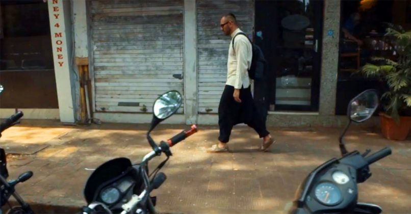 "Yunus Pers released the long-awaited video for the track ""Through the Clouds"", which was filmed in Goa"