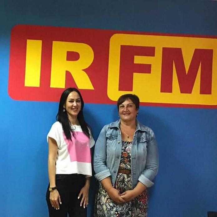 """Ruslana Sobiev on radio """"Ir"""""""