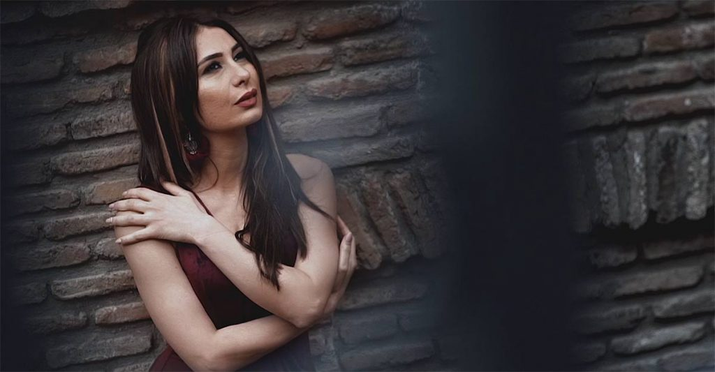 """Shot from the clip """"Where Are You"""" by Ruslana Sobieva and Zarina Bugaeva"""