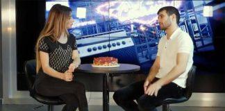 Руслан Гасанов в программе «Хит Столица» на канале «МТВ Столица»