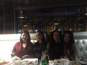 День рождения Илона Кесаева отметила в своём любимом ресторане «Небо»