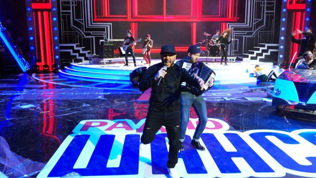 Султан Ураган на репетиции перед выступлением в СК «Олимпийский». Ноябрь 2017 года.