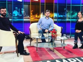 "Azamat Bishtov on the Turkish TV channel ""KAMPUS"""