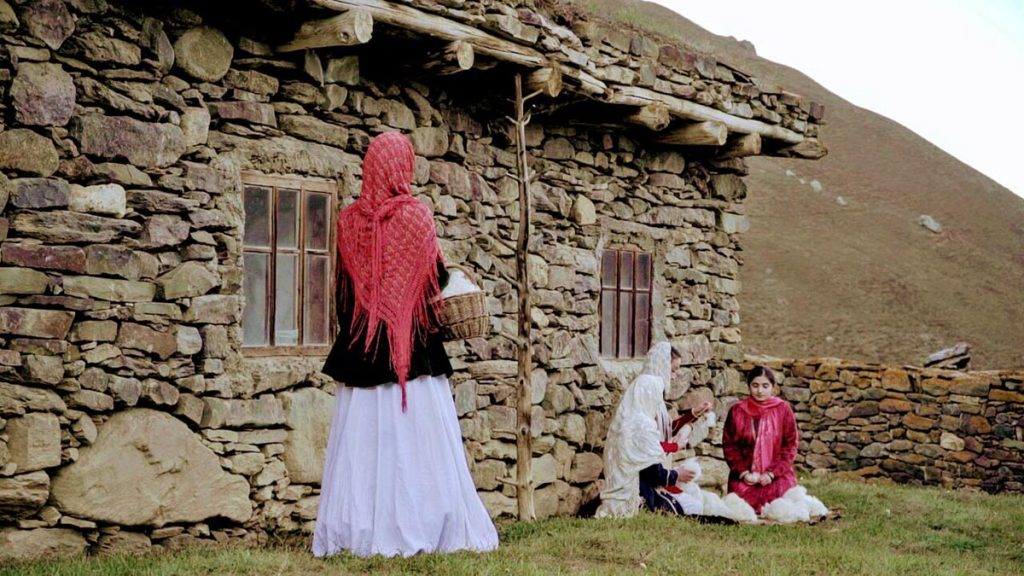 """The clip """"Maryam"""" was decided to be shot in the Khulamo-Bezengi district. There is a saklya in which the ancestor of Balkarian poetry and the founder of the Balkarian language Kyazim Mechiev lived."""