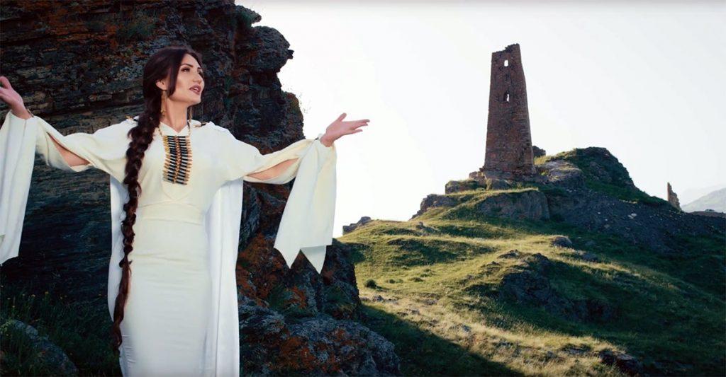 Съемки основных кадров клипа «Аланы» были проведены высоко в горах Осетии
