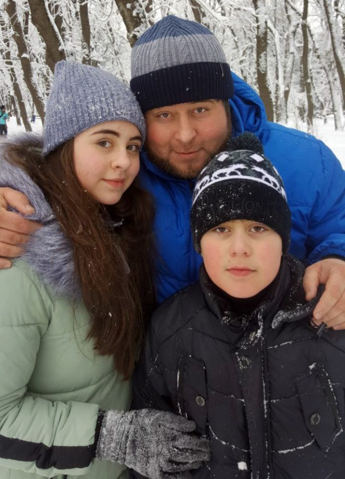 Dibir Abaev loves active winter rest