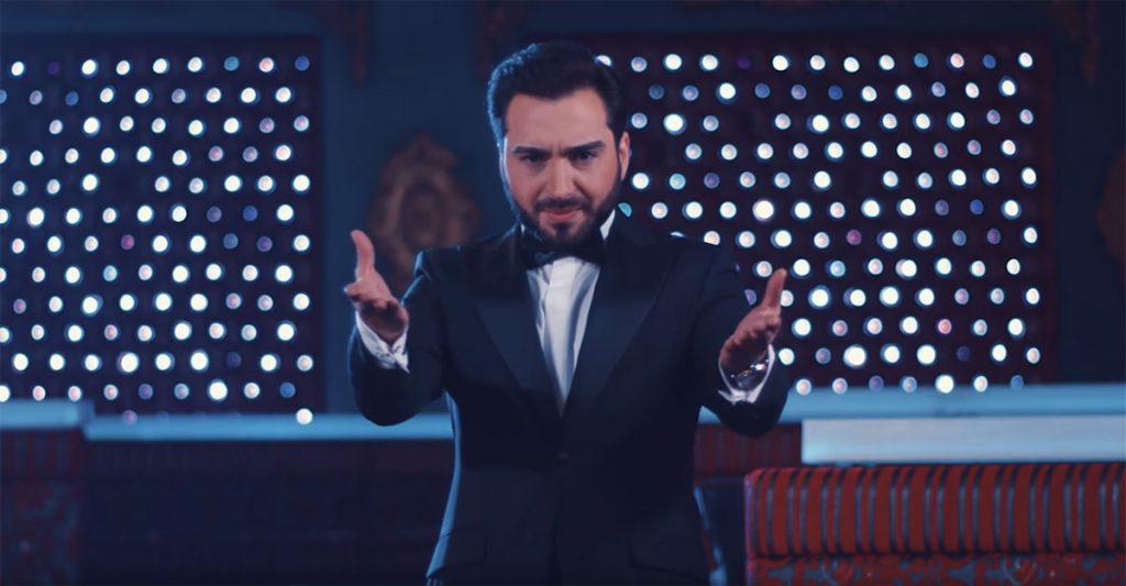 """Yunus Pers feat. Shamkhan Daldaev - """"Padishah."""" Frame from video clip."""