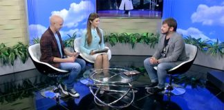 "Adam Achmiz on the TV channel ""Kuban 24"""