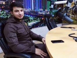 """Isa Esambaev live on the radio station """"Grozny"""""""