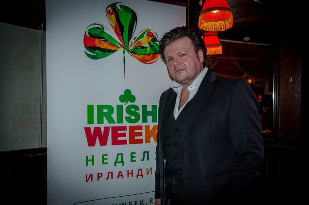 Сососнователь IRISH WEEK и Фестиваля ирландского кино в Москве Джерард Майкл МакКарти