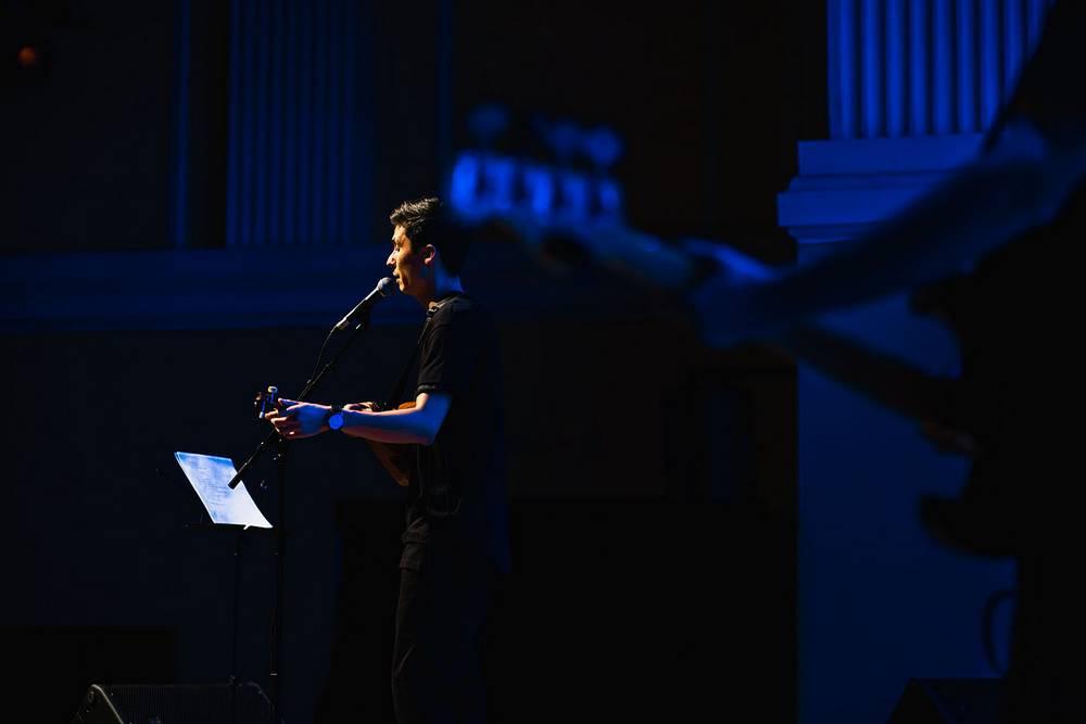 """Ислам Сатыров: """"Перед каждой песней я рассказывал об истории создания той или иной композиции"""""""