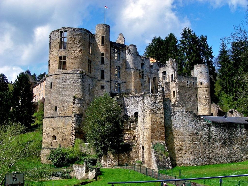 "Videoclip ""None of The Above"" was completely removed in the dilapidated locations of the castle Beaufort in Luxembourg"