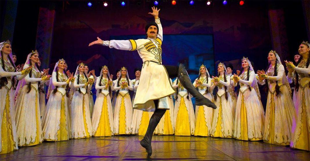 Национальные танцы Кавказа