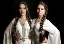 Руслана Собиева и Зарина Бугаева в Цхинвале