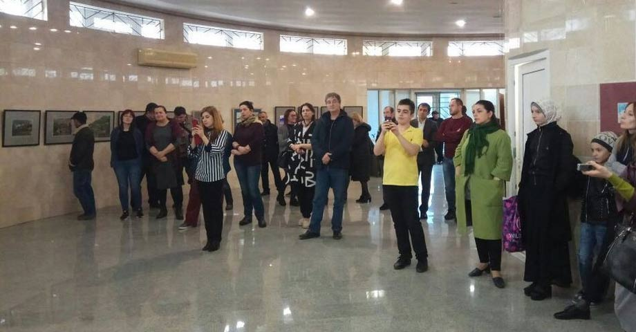 "April 10 in the historical museum of the city of Makhachkala opened the exhibition ""Series"" CITY """
