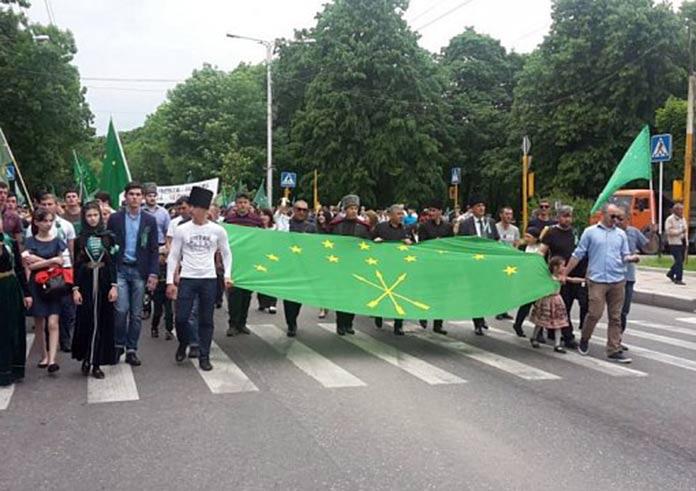 Митинг в Нальчике. Источник: https://capost.media/
