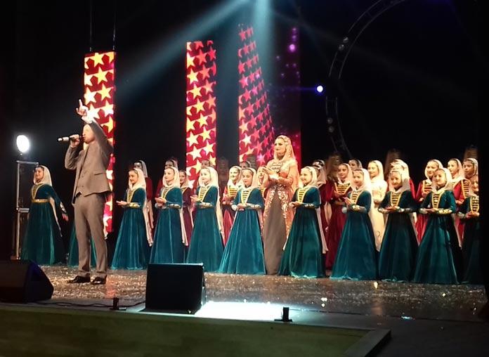 "Eldar Zhanikayev performs his final song ""Barama"""