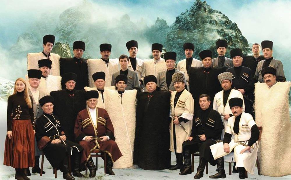 Певцы Кавказа. История кавказской песни