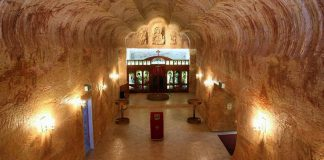 A resident of the Armenian village independently built a seven-story underground temple