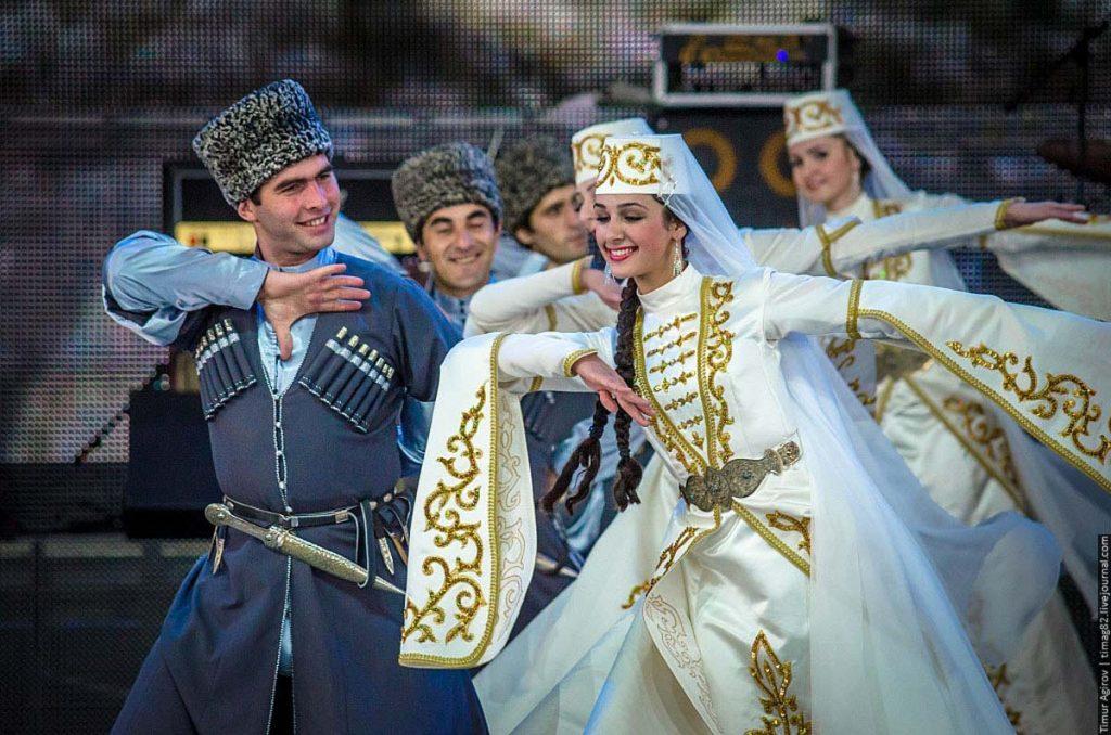 Ансамбль «Ингушетия». Фото с сайта http://gazetaingush.ru/