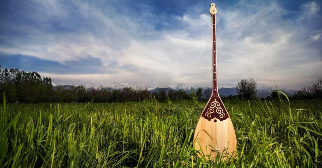 Musical instruments of the peoples of the Caucasus. Dombra