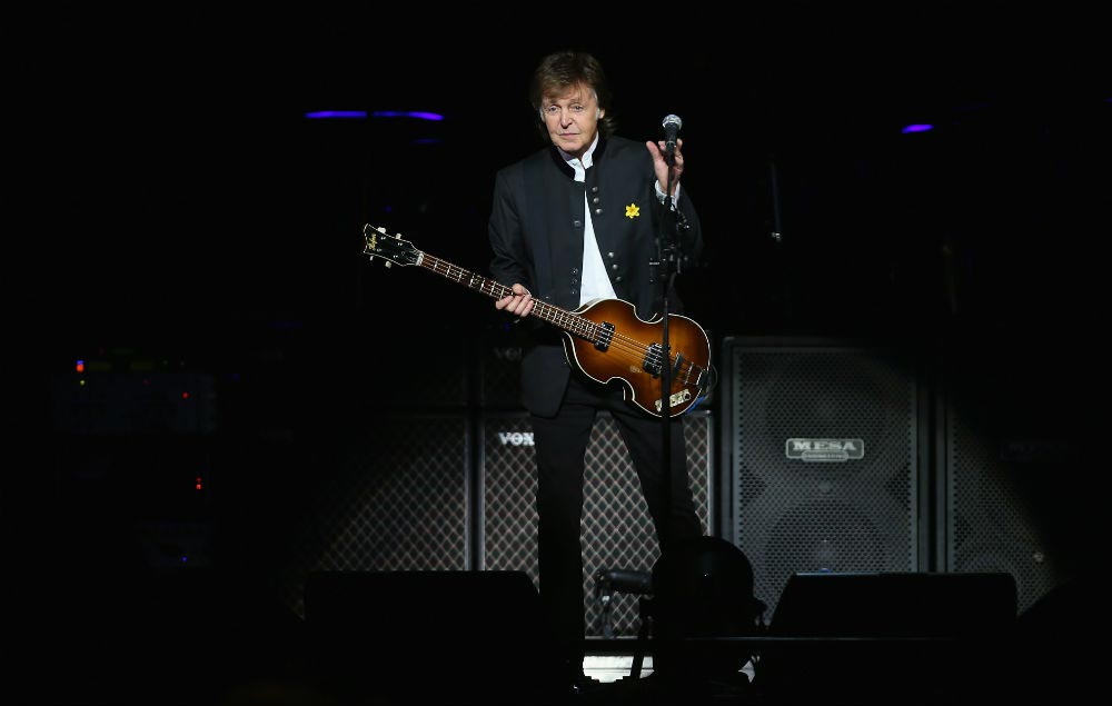 Photo of Paul McCartney in Liverpool, June 2018 of the year. Provided by https://www.nme.com