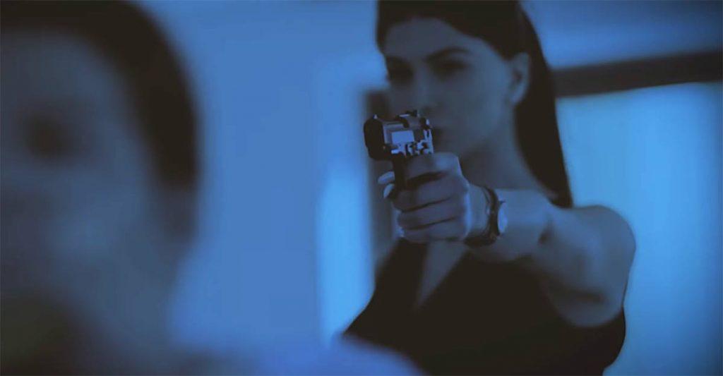 Новый видеоклип Ольги Баскаевой «Быть нужной». По сюжету героиня Ольги получает заказ «ликвидировать объект»..