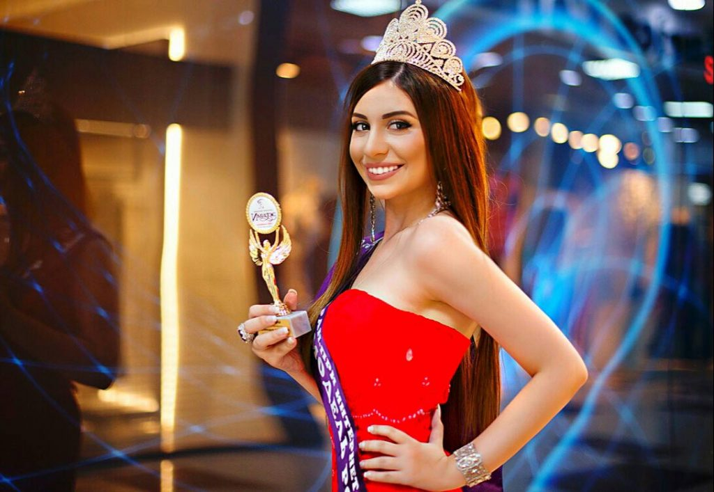 """Tamara Garibova became the owner of the Grand Prix of the contest """"The Russian Model 2018"""""""