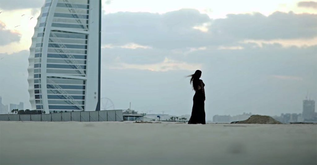 "Teaser went to the clip of Olga Baskayeva ""Dissolve the road"""