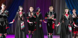 "Stavropol ensemble ""Caucasus"" won in Georgia"