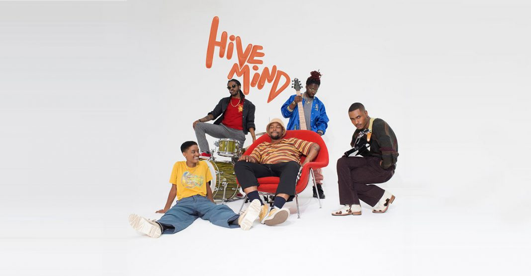 "The Internet presented the album ""Hive Mind"""