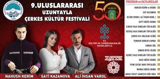 Turkey will host the International Festival of Circassian Culture