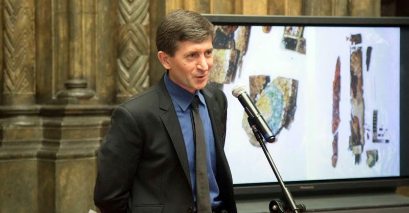 Бияслан Хакимович Атабиев - директор Института археологии Кавказа. Фото: http://cultobzor.ru/