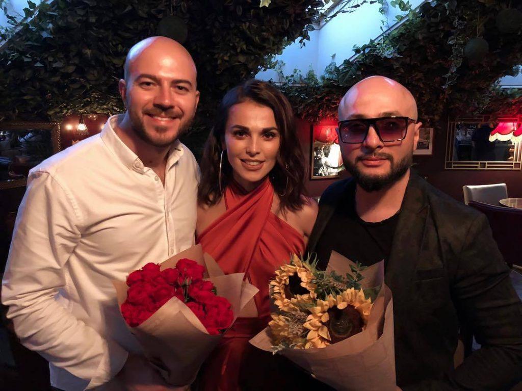 "Timur Hatsayev, Sati Kazanova, Sultan Uragan. Musical concert ""Sati Ethnica"", Moscow, 14 August 2018."