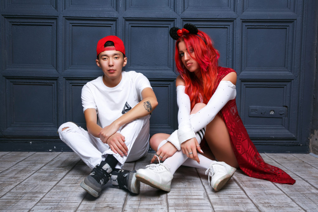 Ирина Омель и DJ Nikas. Фото: https://irinaomell.com