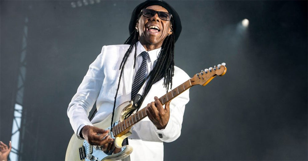 Nile Rodgers recorded an album