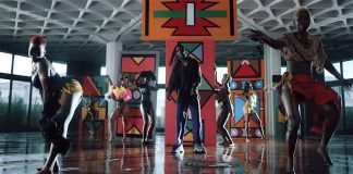"Burna Boy introduced the dance video ""Gbona"""