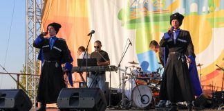 Cossack rock festival was held in Stavropol